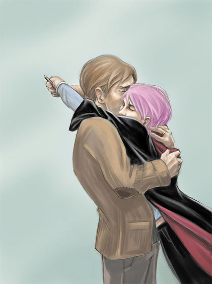 lupin and tonks_DH SPOILERS by endoftheline