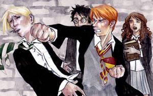 Ron VS Malfoy