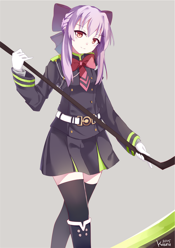 I thought we were in Rose Garden, not Sakuramori!~ Solo Job ♥ Shinoa_hiiragi_by_kauru00-d8yac67