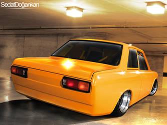 Fiat 124 by Sedatgraphic2011