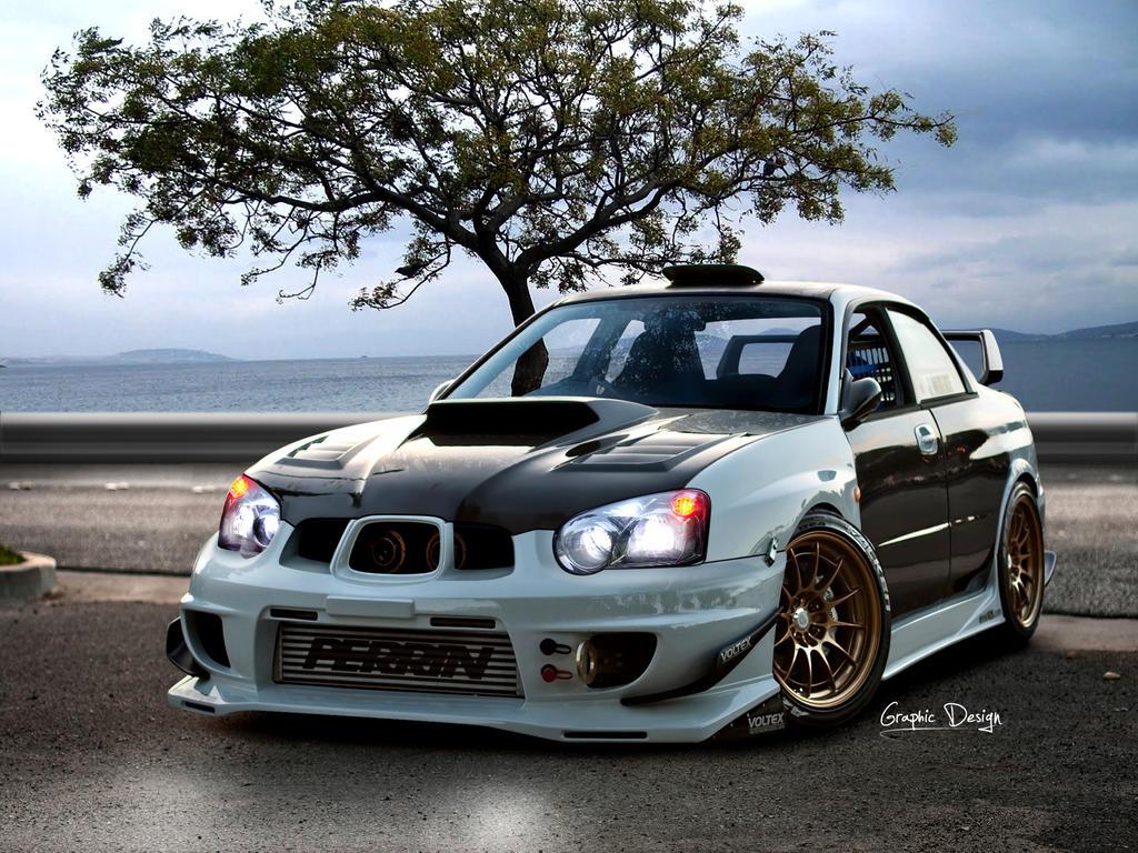 Subaru Impreza WRX STI by Sedatgraphic2011