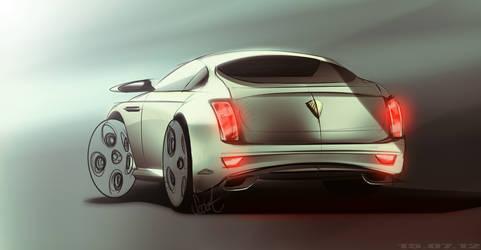 Bentley Sketch