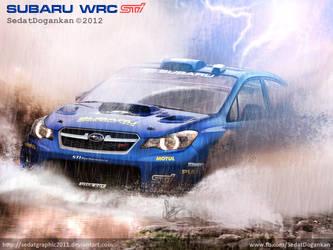 Subaru Impreza WRC 2012 by Sedatgraphic2011