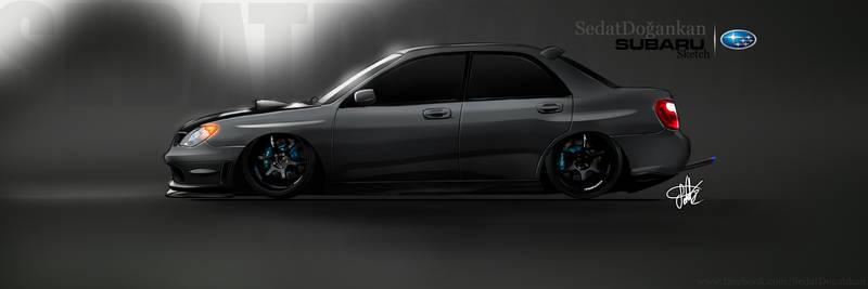 Subaru Impreza Quick Sketch