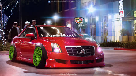 Cadillac CTS by Sedatgraphic2011
