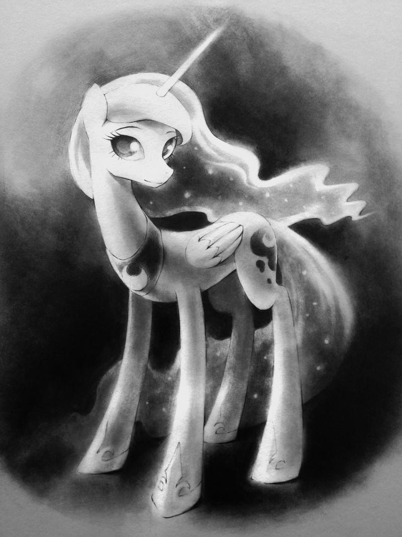 Princess Luna by murphylaw4me
