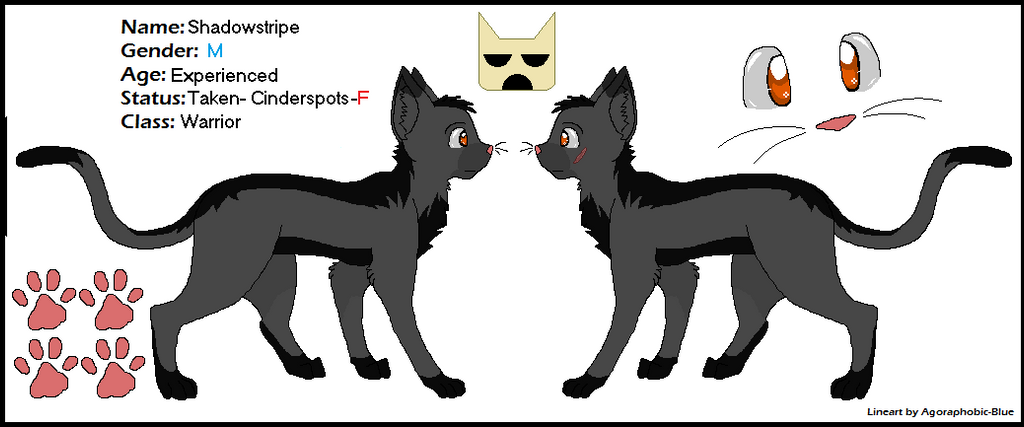 Shadowstripe ref for Wafflecheese30 by 0-CaPsLoCk-0