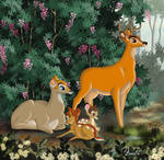 THE FAMILY OF BAMBI