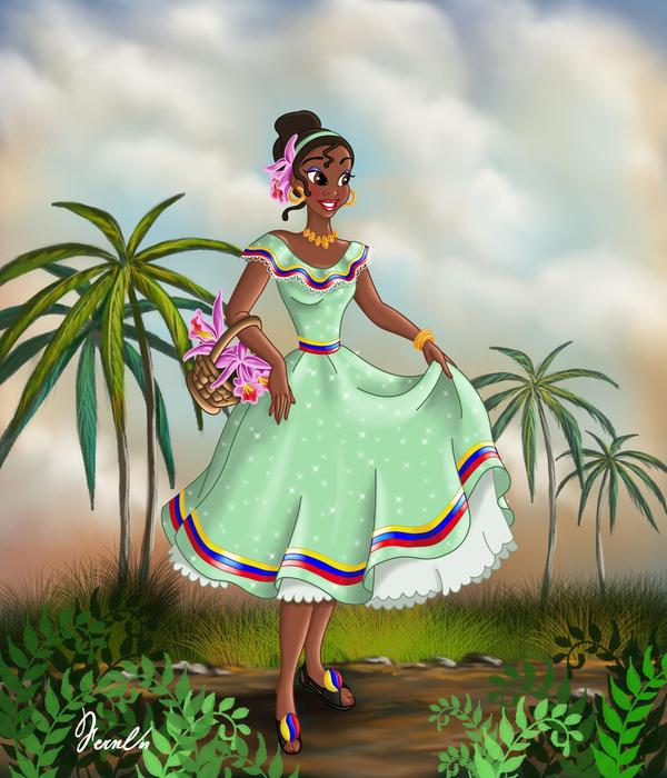 Princess Tiana Art: TIANA VENEZOLANA By FERNL On DeviantArt