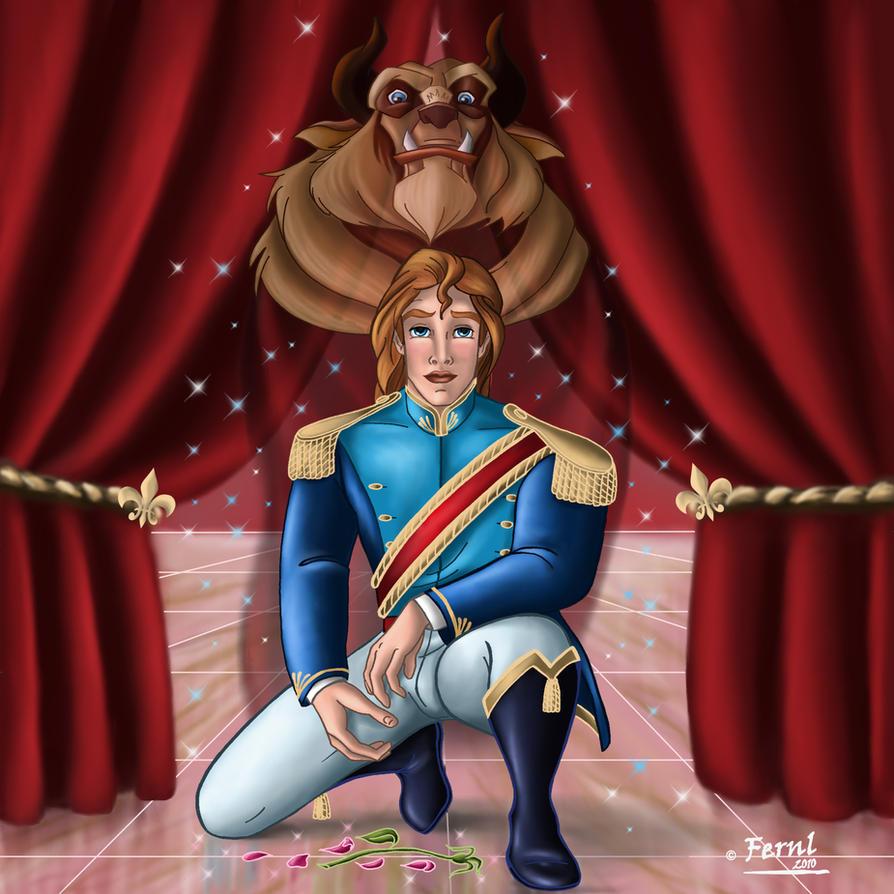 Beauty and the beast prince human