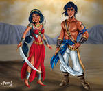 ALADDIN AND JAZMIN VERSION 1