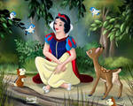 SNOW WHITE AND FRIENDS