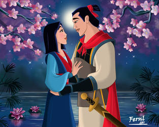 MULAN AND SHANG by FERNL