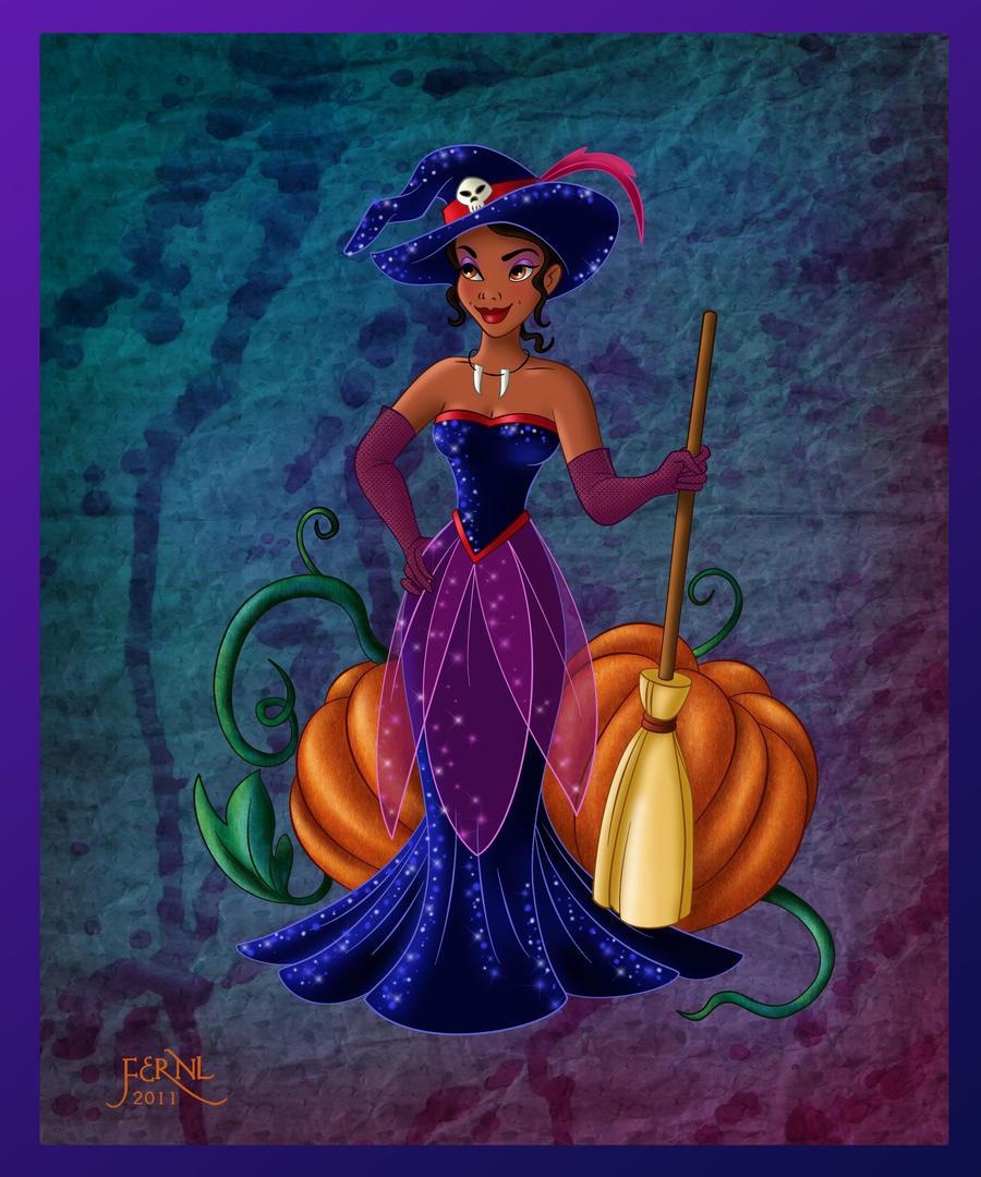 Princess Tiana Art: TIANA IN HALLOWEEN By FERNL On DeviantArt
