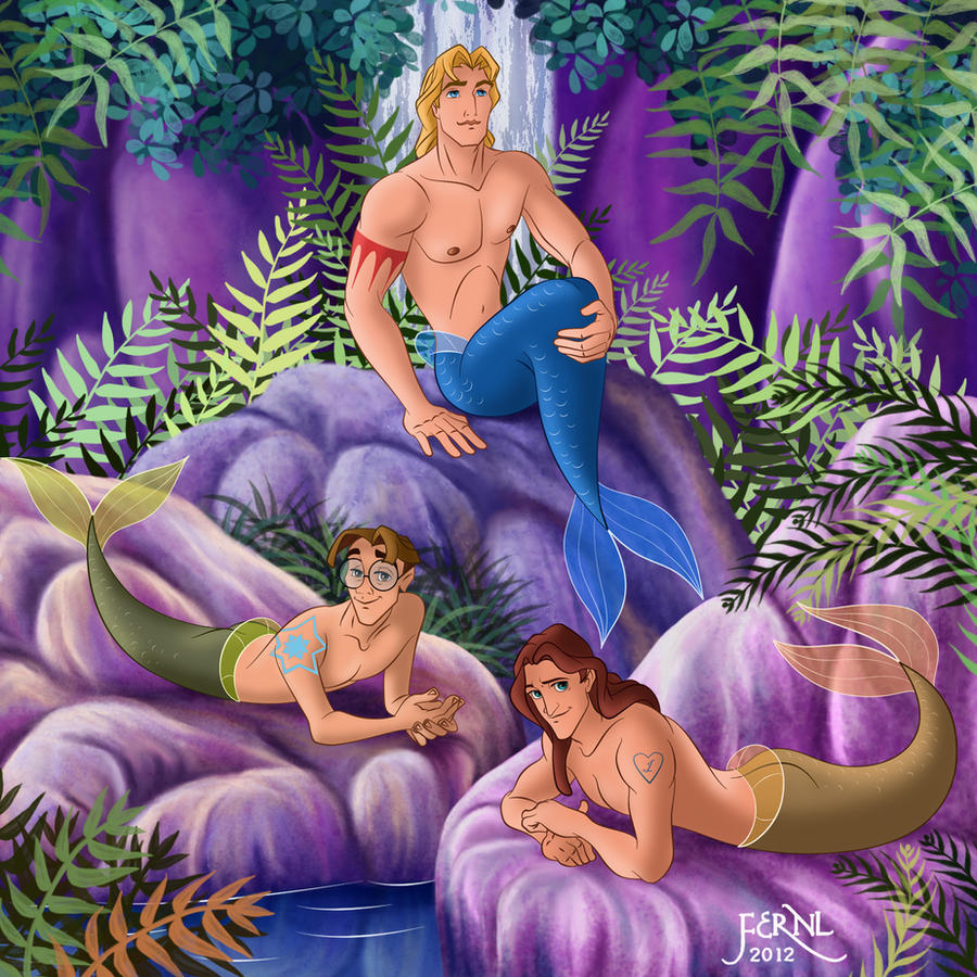 MERMEN PRINCES 5 by FERNL
