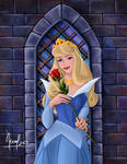 AURORA WITH A ROSE