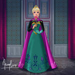 ELSA WITH A ROSE 1