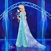 ELSA WITH A ROSE 2