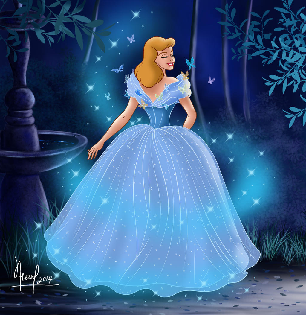 Cinderella dress transformation 2017