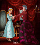 CINDERELLA AND THE STEPMOTHER