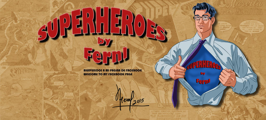 SUPERHEROES BY FERNL by FERNL