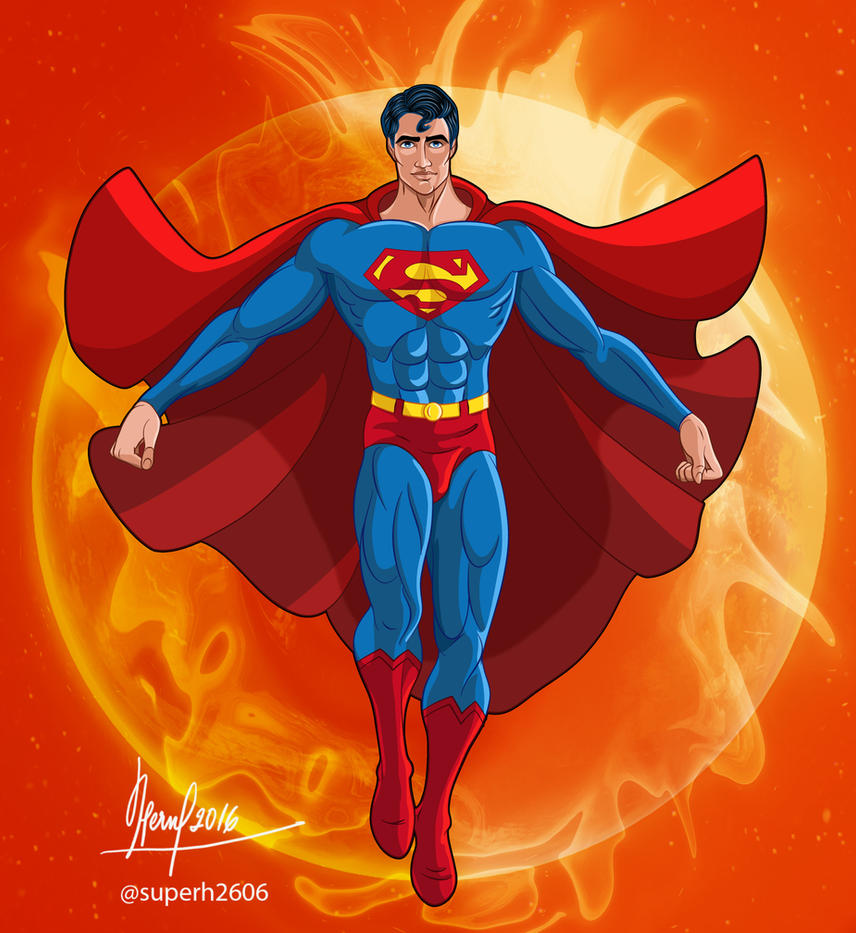 THE MAN OF STEEL by FERNL