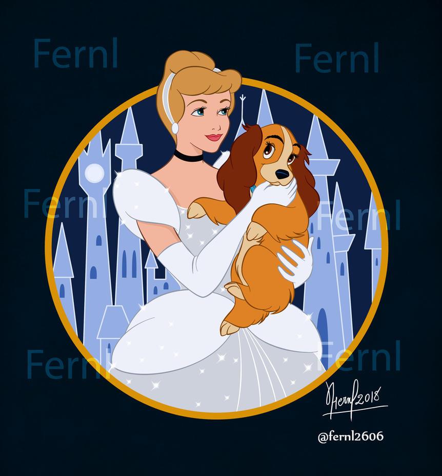 CINDERELLA AND LADY by FERNL