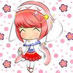 (Fire Emblem If). Chibi Sakura. Wedding Dress