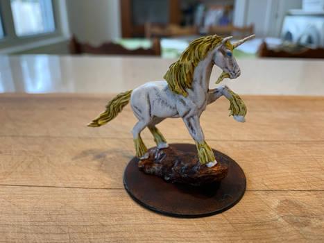 I painted up a unicorn