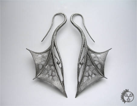 Wing Earrings - Pair