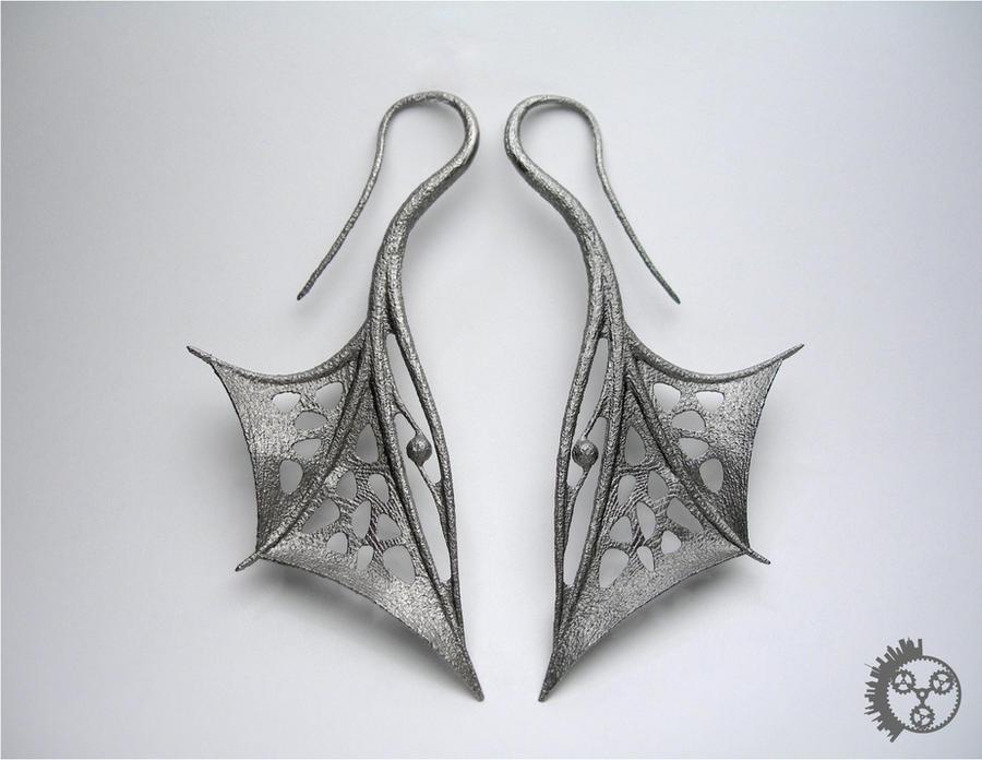 Wing Earrings - Pair