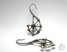 Spine Earrings - Pair