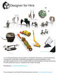 Industrial Designer for Hire