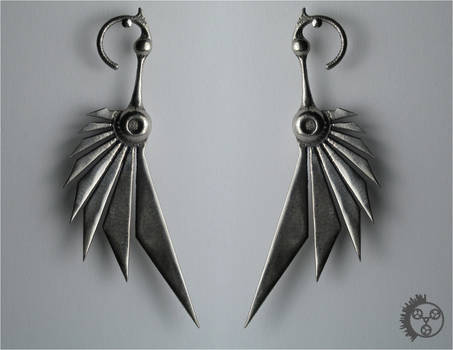Polished Bladewing Earrings 1
