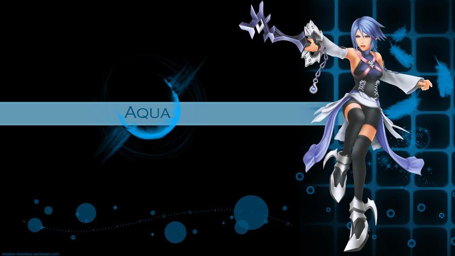 Kingdom Hearts Aqua Wallpaper Kingdom Hearts Aqua WP by