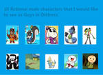 Here's My GID List! by StormTheWolfo