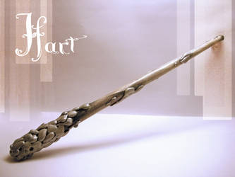 Pond Couture Wands: Hart by storytellersdaughter