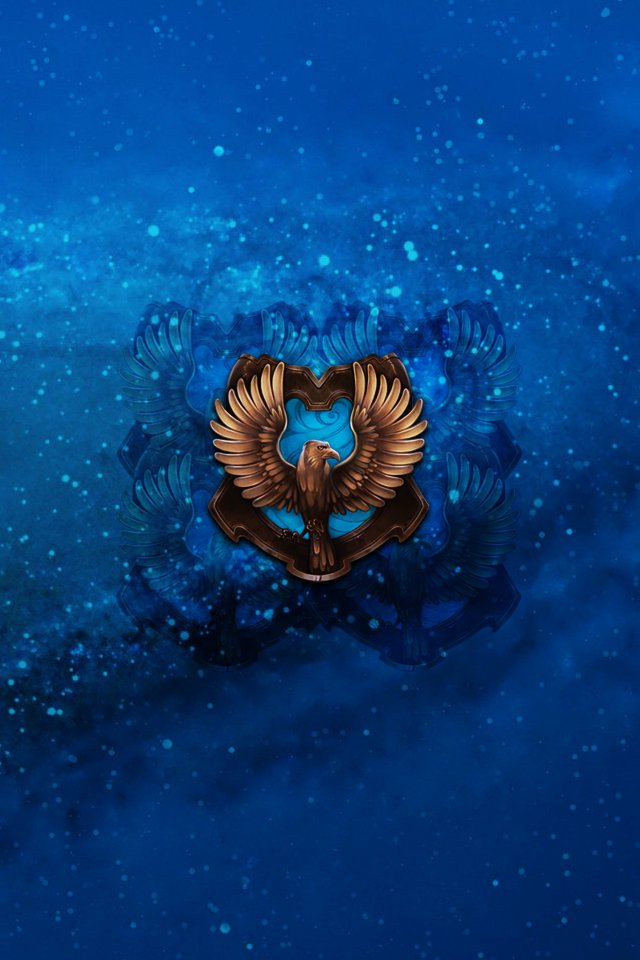 Ravenclaw iphone 4 4s lockscreen wallpaper by briely on for Wallpaper home iphone 4s