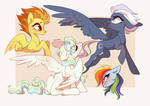 Some daring pegasi