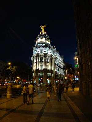 Gran Via Metropolis building