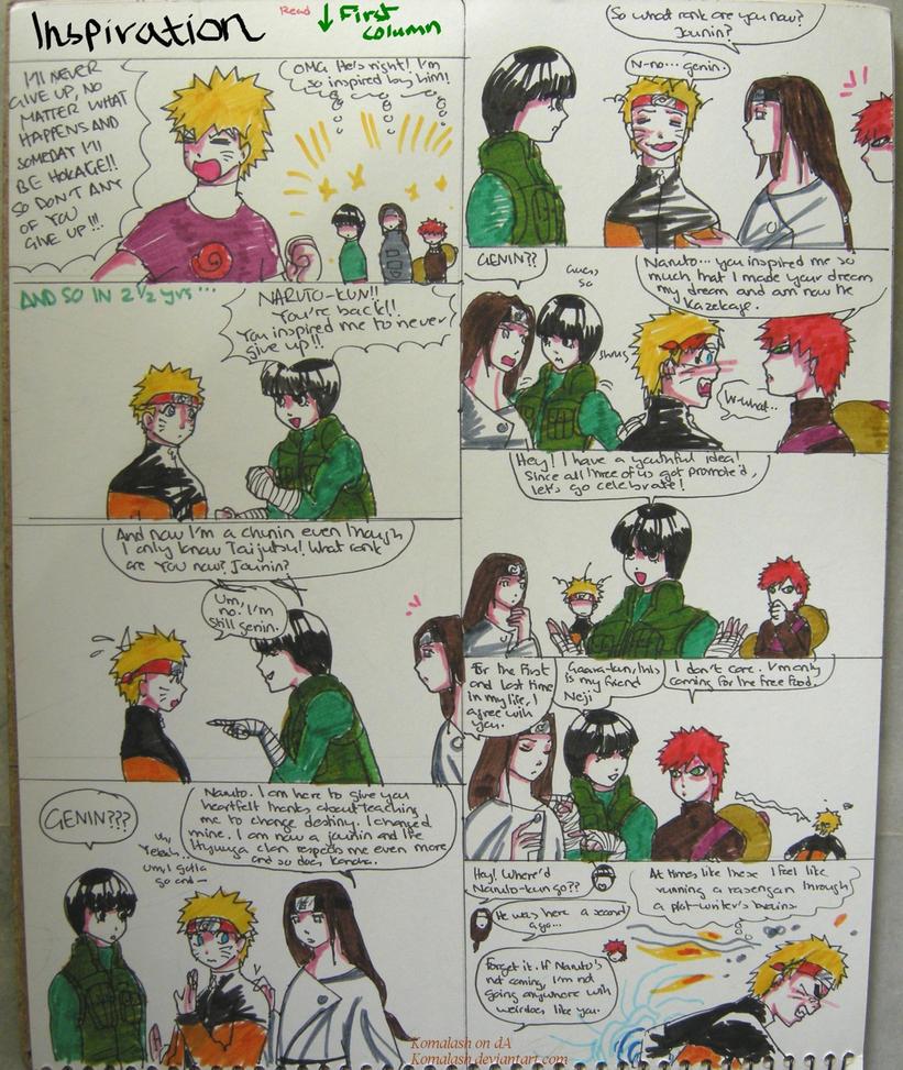 INSPIRATION- The Naruto Irony by Komalash