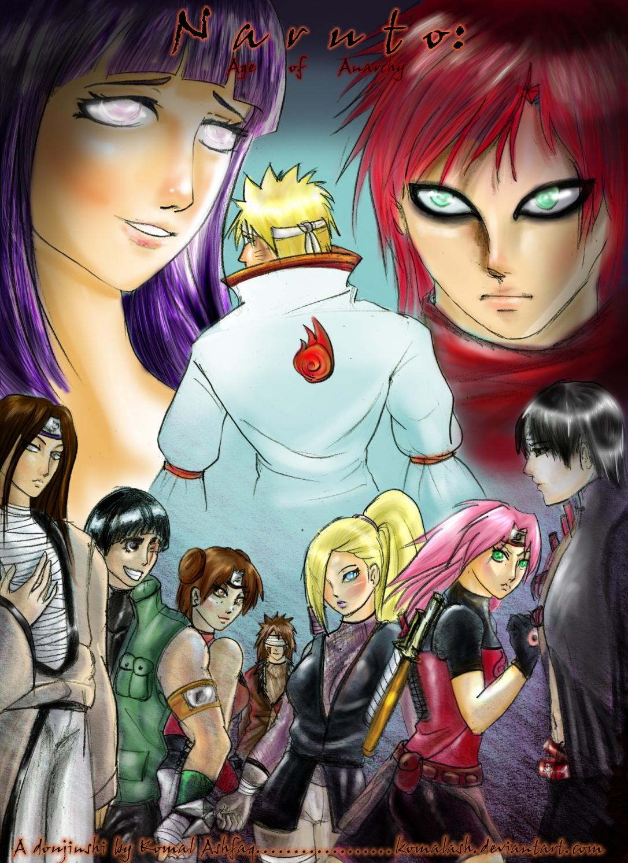 Naruto Doujin Cover- Colored by Komalash