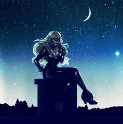 Spiderman- Black Cat by Komalash