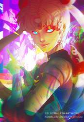 Artgerm Sailor moon coloring contest by Komalash