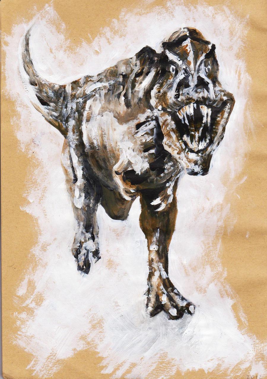 Tyrannosaurus Rex by PrehistoricGiraffe