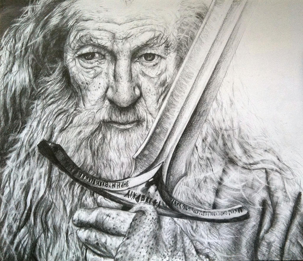Gandalf the Grey by PrehistoricGiraffe