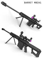 BARRET M82A1 by covenan