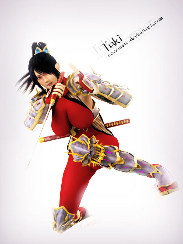 Taki The Demon Huntress 3 by covenan