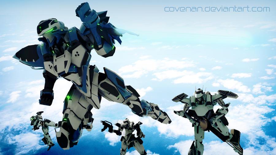 Covenan Mecha GSDC Series by covenan