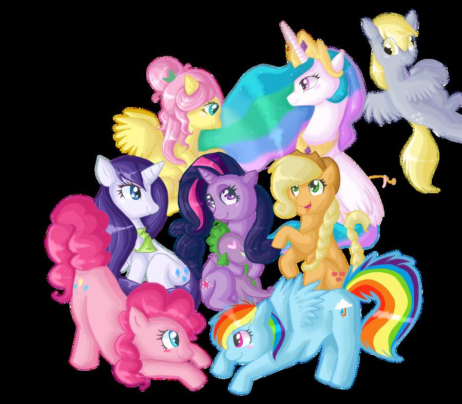 Онлайн раскраски мои маленькие пони дружба это чудо
